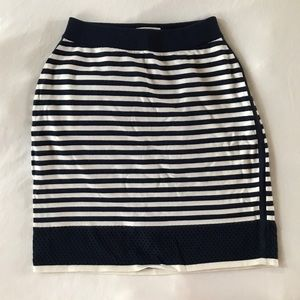 rag & bone Skirts - Rag & Bone Knit Skirt in Nautical Stripes